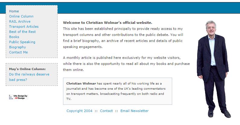 My first website - 2004