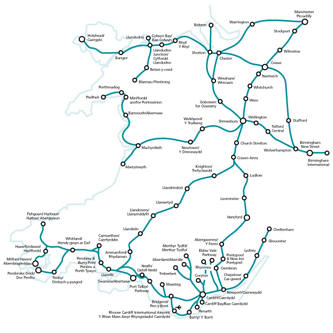 Arriva Trains Wales Map Rail 846: Wales – where the railways really matter | Christian Wolmar Arriva Trains Wales Map